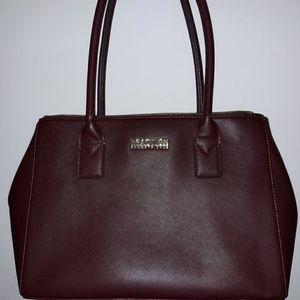Kenneth Cole Burgundy Handbag